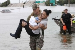 Hurricane Harvey brings havoc and mayhem to Texas Coastline