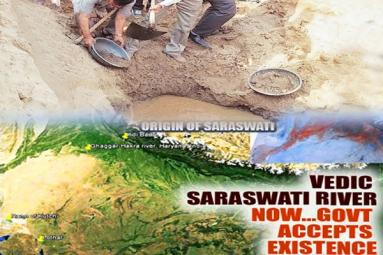 Holy Saraswati river sprouts to life after 4,000 years},{Holy Saraswati river sprouts to life after 4,000 years
